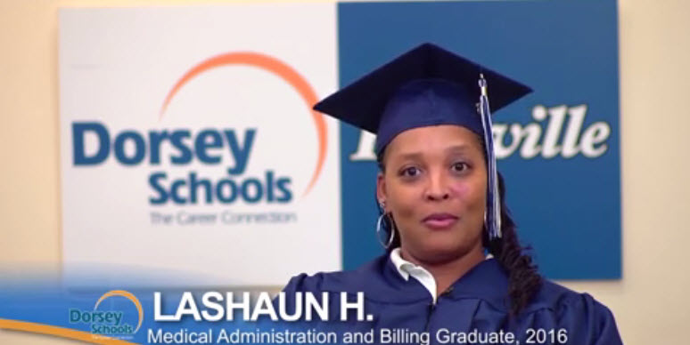 Meet LaShaun a Graduate from the Medical Administration and Billing Program
