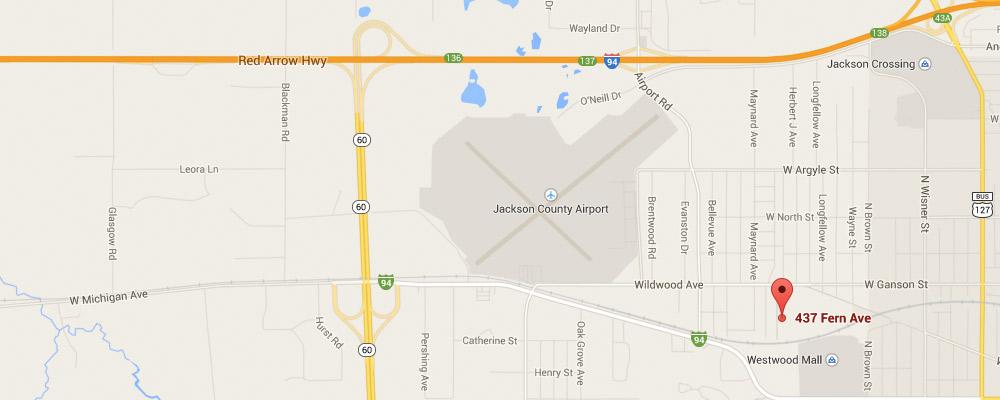 MAESAH Jackson Map