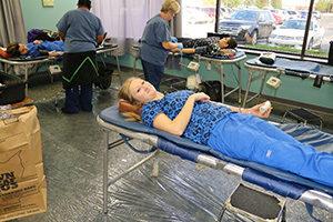 Blood Drives Dorsey Schools