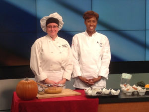 Dorsey Culinary Academy Chef Usher on Channel 7 Detroit