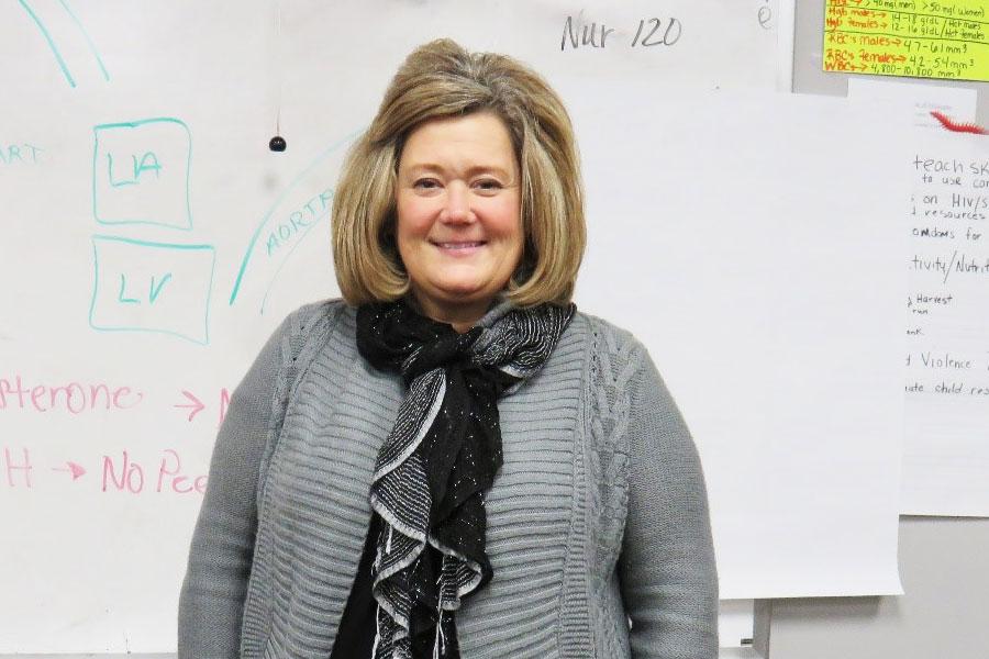 Ms Traub an Instrutor In Our Practical Nurse Program At Dorsey Schools 1