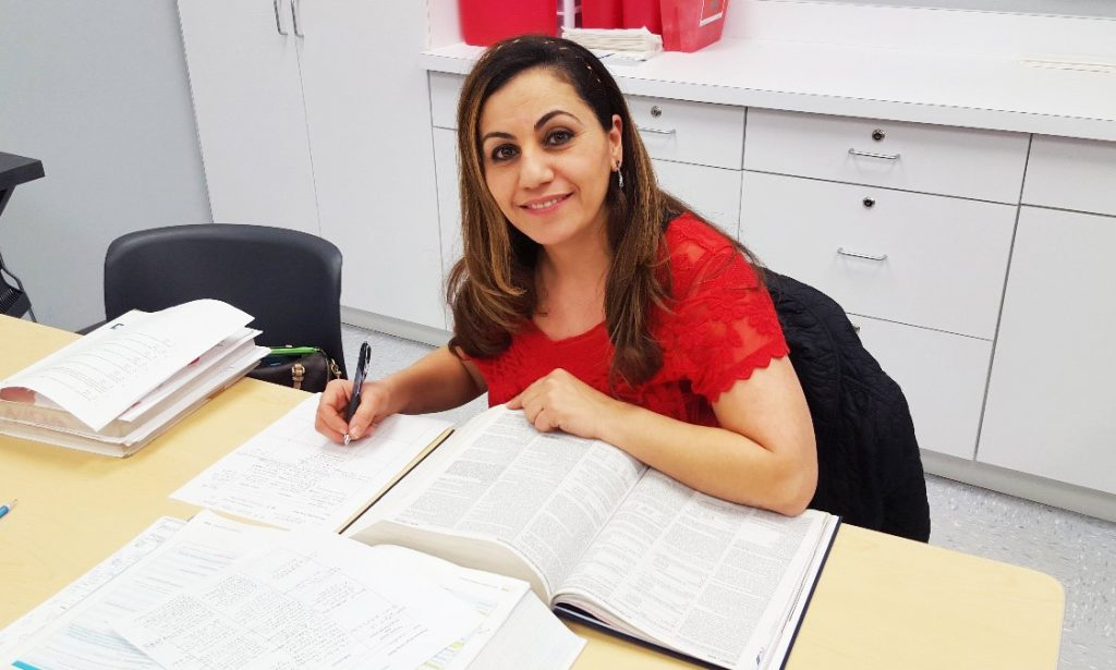 Meet Nadia a Medical Assistant student at the Madison Heights MI campus 1 1