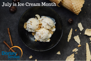 July is National Ice Cream Month 2016