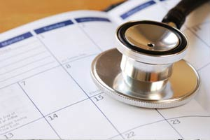 Medical Assistant scheduling appointments