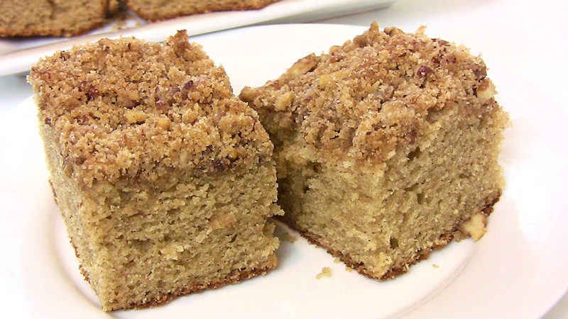 Coffee Cake Recipe | Cooking Schools
