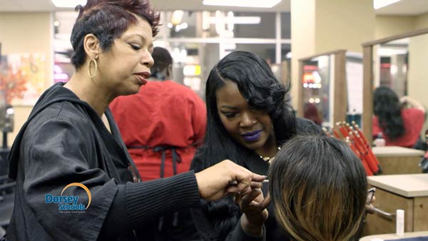 Meet Lanisha: a Graduate of Dorsey Schools' Cosmetology Program