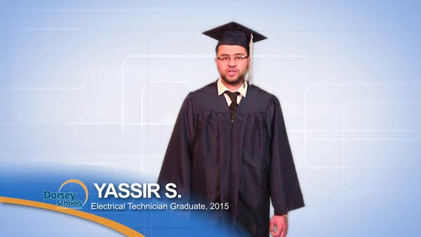 Meet Yassir: A Graduate of Dorsey Schools' Electrical Technician Training Program