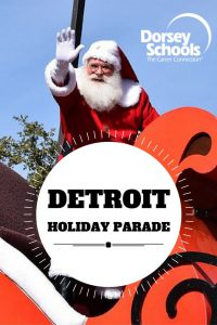 Holiday Parades in Detroit 2016
