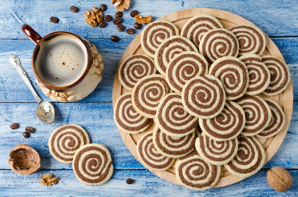 Mint Chocolate Swirl Cookies   Dorsey Schools Michigan