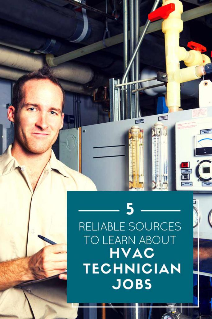 5 Reliable Sources to Learn About HVAC Technician Jobs