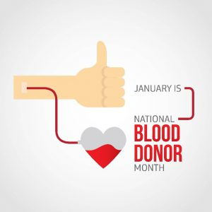 January 2017 - National Blood Donor Month