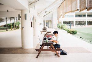 Student Studying Career Development Plan
