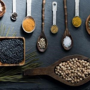 Spices in Culinary Arts School