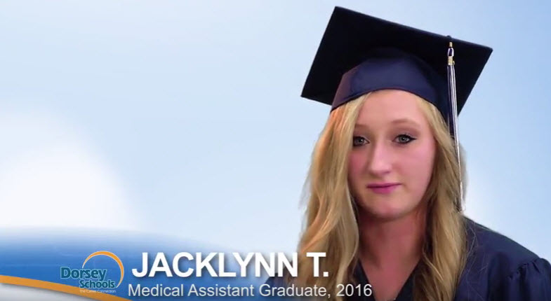 Meet Jacklynn, a Graduate from the Dorsey Schools Medical Assistant Program