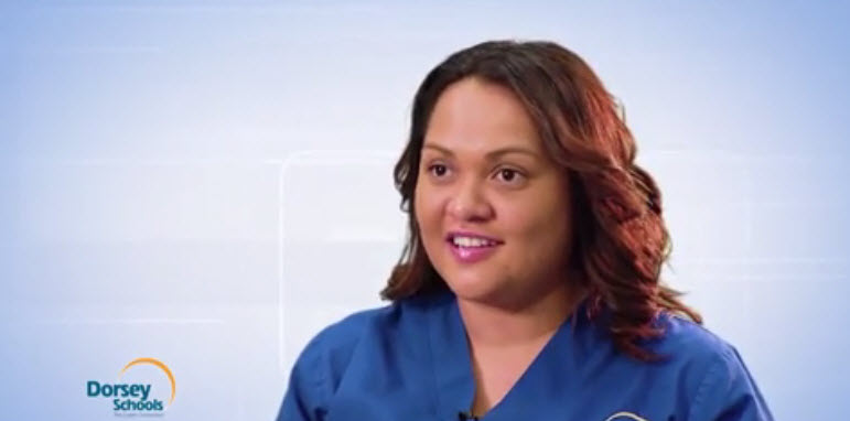 Meet Claudia, a graduate from the Medical Assistant program