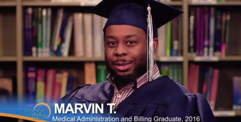 Meet Marvin a Graduate from the Medical Administration and Billing Training Program