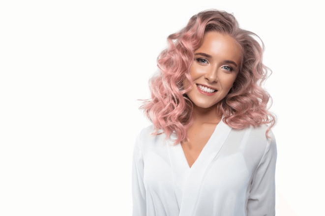 Rose Gold Hair Beauty School