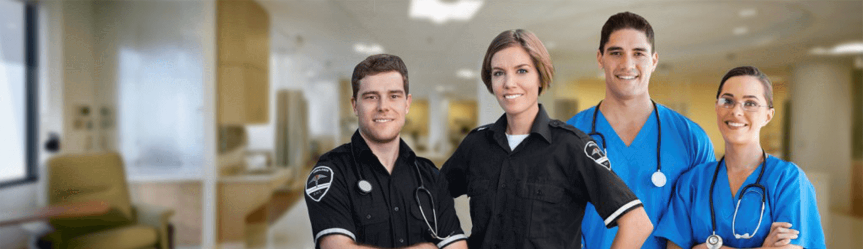 DEMA paramedics and healthcare workers