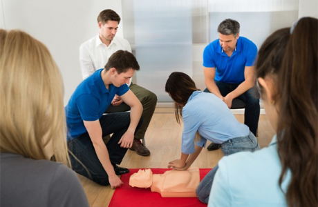 Dorsey CPR Training 2019
