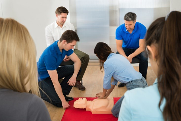 Dorsey CPR Training 2019