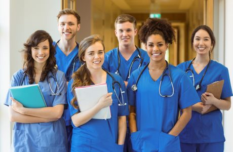 Who do Medical Assistants work with
