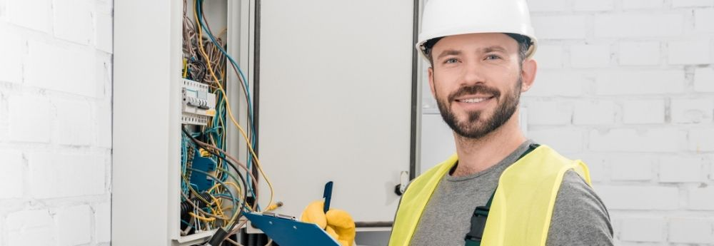 An electrical technician training