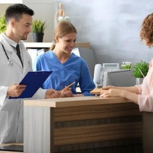 What is a front office medical assistant and what do they do?